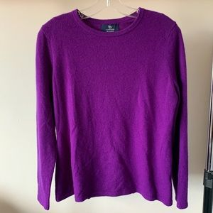Lands' end 100% cashmere sweater